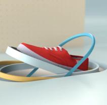 Victoria Shoes - TV Spot. Un proyecto de 3D, Animación y Sound Design de Enrico Varagnolo - 27-06-2017