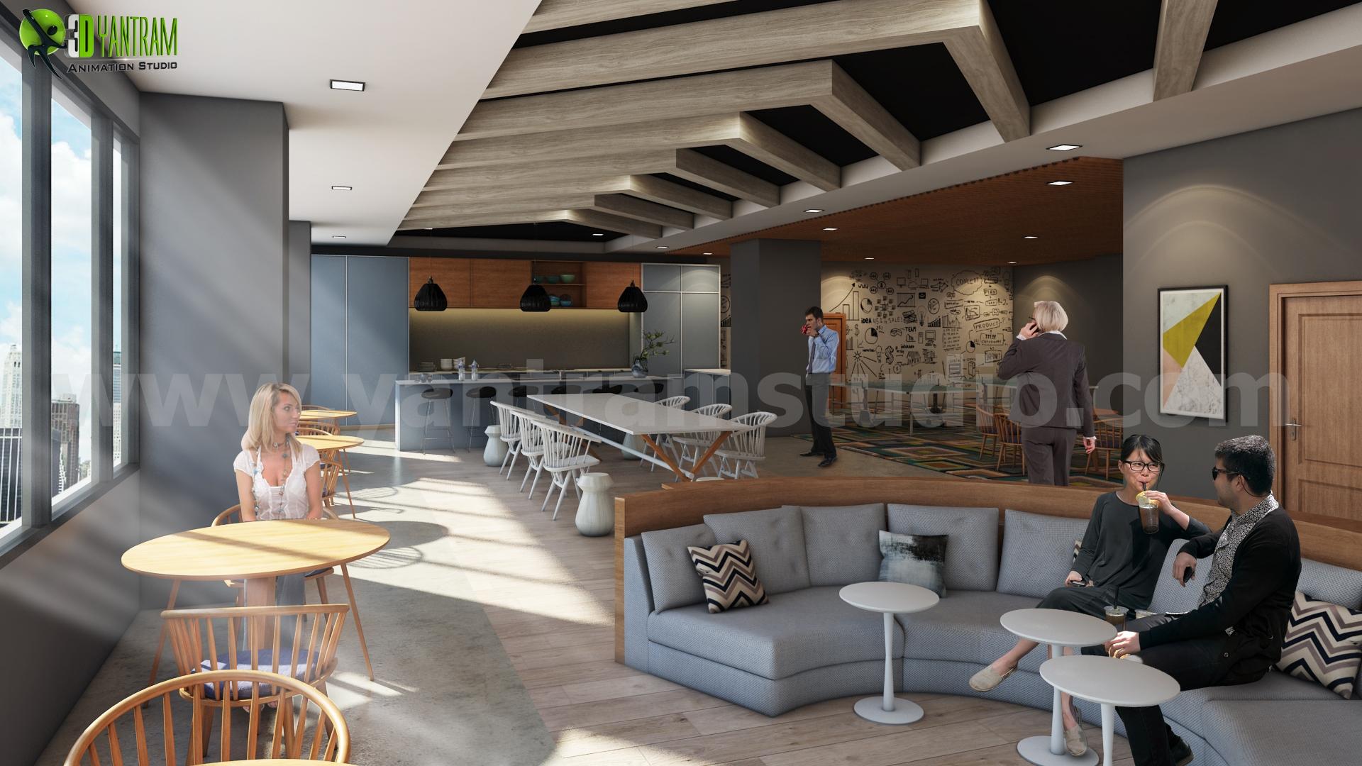 Ideas de dise o de interiores de oficina moderna para for Diseno de interiores para oficinas pequenas