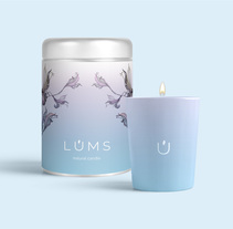 LUMS, natural candle.. A Design, and Graphic Design project by Christian  De Biasio         - 04.07.2017