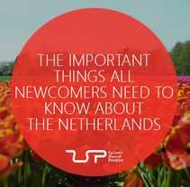 The important things all newcomers need to know about the Netherlands. Un proyecto de Infografía de Talent         - 06.07.2017