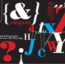 Editorial (espcécimen tipogr.). Un proyecto de Diseño editorial y Tipografía de Sofia Garcia (eseø)         - 06.07.2017