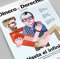 Dinero y Derechos Cover. Un proyecto de Ilustración e Ilustración vectorial de Ricardo Polo López - 10-07-2017