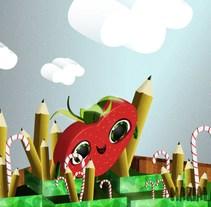 Mi Proyecto del curso: Técnicas avanzadas de ilustración vectorial. A Illustration, Film, Video, TV, Animation, Editorial Design, and Film Title Design project by marialamalvada - 27-07-2017