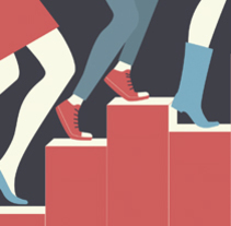 Cartel para promocionar la actividad de encuestas online de la Universidad Autónoma de Madrid. Un proyecto de Diseño, Ilustración, Publicidad, Diseño gráfico e Ilustración vectorial de Lidia Lobato - 15-01-2017
