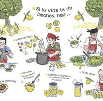 Sobres Mestres. Um projeto de Ilustração, Br, ing e Identidade e Culinária de alexis aldeguer         - 17.07.2017