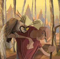 Dos amigos de una historia en progreso... espero que les guste :). Um projeto de Ilustração de Ivan Bourie Corneille         - 18.07.2017