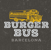 Burgerbus. A Illustration, Graphic Design&Interior Design project by Anna Pujadas Baqué         - 10.04.2016