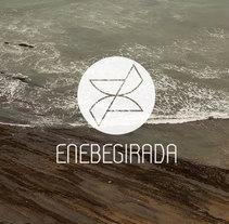 Logotipo Enebegirada. Um projeto de Design gráfico de Lorea Espada         - 05.01.2017