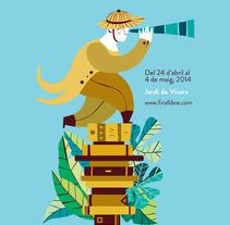 Feria del Libro de Valencia 2014. Un proyecto de Ilustración, Publicidad y Diseño gráfico de Marta Chaves - 24-04-2014
