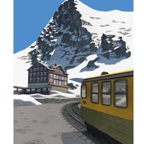 Viaje y reportaje ilustrado para Yorokobu.. Un proyecto de Ilustración de Pablo Burgueño  - 15-05-2017