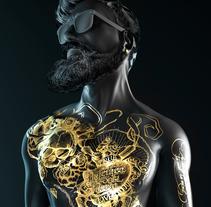 BLACK SERIES. Un proyecto de Ilustración, 3D y Dirección de arte de DAVID ELOSEGUI - 30-07-2017