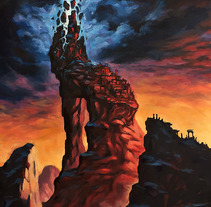 The Beacon. A Illustration project by Rubén Megido         - 06.08.2017