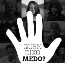 Quén dixo medo?. A Design, and Graphic Design project by DMcreatividad          - 07.08.2017