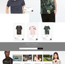 Zara | Redesign Concept. Un proyecto de Diseño Web de Jordi Niubó Lopez         - 10.08.2017