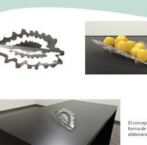 Frutero . Un proyecto de Diseño de muebles y Diseño industrial de ANA MARIA VALBUENA GAMBOA         - 16.08.2017