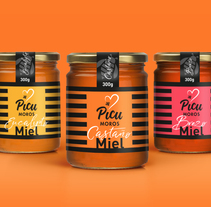 Miel Picu Moros. A Br, ing, Identit, Graphic Design, and Packaging project by Mara Rodríguez Rodríguez - 17-08-2017