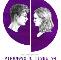 Cartel de la obra 'Píram092 & Tisbe_94' (Raquel Jaro). Um projeto de Ilustração e Design gráfico de Julia Mora Crespo         - 20.04.2017