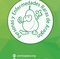 Somos PERA (Personas y Enfermedades Raras de Aragón). A Advertising, and Graphic Design project by Iris Lancina Relancio         - 20.08.2017