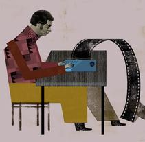 ESCUELA DE ESCRITORES. Itinerario de Guion. Um projeto de Design, Ilustração e Direção de arte de anne - 01-07-2016
