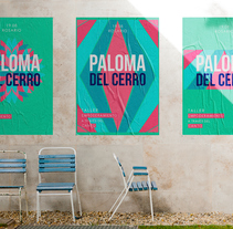 Taller de Canto a cargo de Paloma del Cerro en Rosario 2017. Um projeto de Design gráfico de Anita Acosta         - 31.07.2017