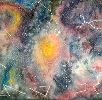 Mi Proyecto del curso: Técnicas modernas de Acuarela. A Painting project by Fernanda Araos         - 08.09.2017