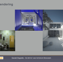 V-Ray. Un proyecto de 3D de Gerald Degrelle Garcia         - 06.09.2017