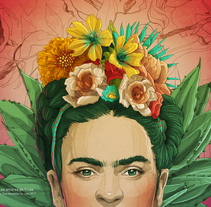 Los amores de Frida. A Illustration project by Tavo Montañez - 15-09-2017