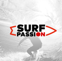 SurfPassion.es. A Br, ing, Identit, and Web Design project by Máximo Alcántara         - 22.09.2017