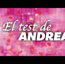 Mateo&Andrea: Cabecera El Test de Andrea. A Motion Graphics project by David Páramo Reina         - 23.09.2017