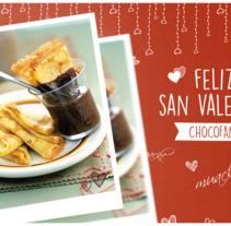 San Valentín Nestlé Postres. Un proyecto de Diseño gráfico de Iris Álvarez Farell - 14-02-2017