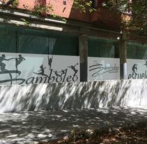 Diseño e intalación de vinilos translúcidos en Madrid. A Design, Graphic Design, and Vector illustration project by ljgraphic         - 28.09.2017