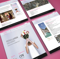 Sevilla de Boda . A Design, UI / UX, Information Architecture, Interactive Design, Web Design, and Web Development project by mkg20 - 13-11-2016