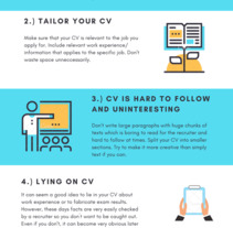 Common CV mistakes and how to avoid them. A Graphic Design project by carlosvalcarcel         - 10.10.2017