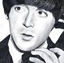 Ilustración: Paul McCartney. A Illustration project by Jenny Benito Gómez         - 10.11.2012