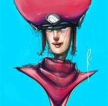 Characters. Un proyecto de Ilustración, Diseño de personajes y Comic de Rafa Hernández         - 29.08.2015