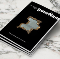 GourÑam, revista gastronómica. A Photograph, Br, ing, Identit, Editorial Design, and Naming project by Helena Becerril - 01-02-2017