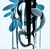 Wet Ink. A Design, Illustration, and Character Design project by Gema Moratilla         - 24.10.2017