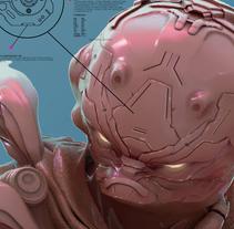 Soldado del futuro proyecto 2. A 3D project by Dante R.D. - 31-10-2017
