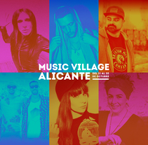 Music Village Alicante 2017. A Music, Audio, and Graphic Design project by Vicente Martínez Fernández         - 11.10.2017