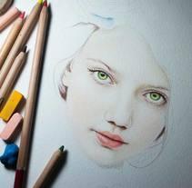 Ilustración lapices pastel. A Illustration project by Oscar Geovani Vergara Arias - 18-08-2015