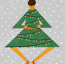 Feliz Navidad. Un proyecto de Ilustración de Marina Hdez Ávila - 06-11-2017