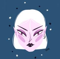 Vampire. Um projeto de Ilustração de lorena sanchez roman - 08-11-2017