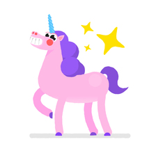 Unicorn Stickers Pack. A Animation, and Character animation project by Moncho Massé         - 01.05.2017