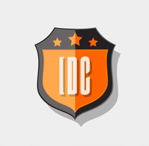 Logo IDC Shield. A Br, ing, Identit, Graphic Design, and Vector illustration project by Alex Blanco Asencio - 10-01-2017