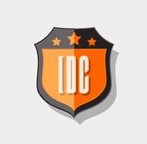Logo IDC Shield. Un proyecto de Br, ing e Identidad, Diseño gráfico e Ilustración vectorial de Alex Blanco Asencio - 10-01-2017