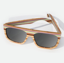GAMA - Gafas de sol. A 3D, Industrial Design, and Product Design project by Javier Gómez Rodríguez         - 15.11.2017