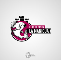 Logotipo Club de Pesca La Manigua. A Graphic Design project by Patricia Vilches - 15-11-2017