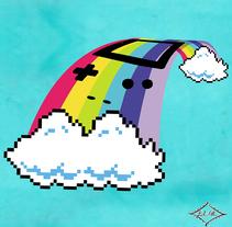 Somewhere over the Game Boy. Un proyecto de Ilustración, Moda y Diseño gráfico de Beatriz López Albir - 16-06-2013