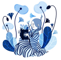 Anna Atkins. Un proyecto de Ilustración de okosketch         - 18.11.2017