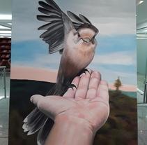 Una de mis pinturas casi por terminar, ya solo me faltan detalles, ¡esperen a verlo ya terminado!. A Fine Art project by Juan Diego González         - 14.11.2017